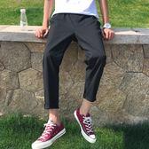 夏季休閒褲韓版潮流百搭寬松直筒港風修身薄款休閑褲 st206『寶貝兒童裝』