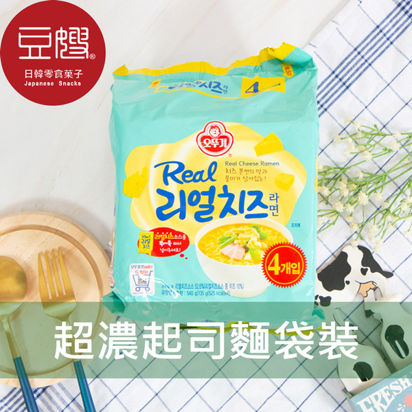 【豆嫂】韓國泡麵 不倒翁 超濃厚起司泡麵(4入/袋)
