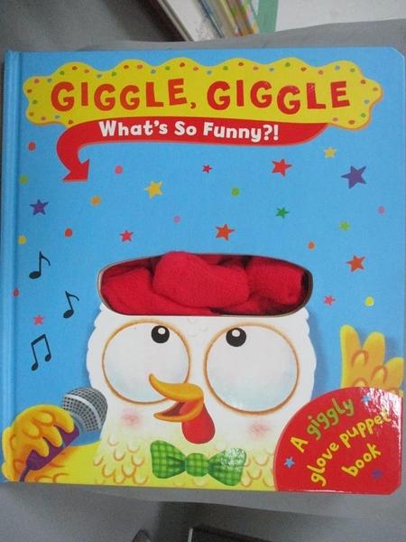 【書寶二手書T5/少年童書_QXO】Giggle Giggle What'S So Funny?_Ben Mantle