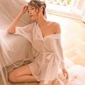 情趣內衣性感透視開襠雪紡襯衫睡裙誘惑OL秘書制服套裝激情用品騷