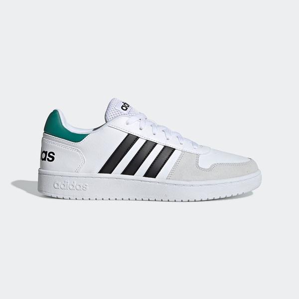 Adidas NEO Hoops 2.0 [EE7799] 男鞋 運動 休閒 慢跑 路跑 健身 基本 穿搭 愛迪達 白黑