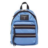 【台中米蘭站】全新品 Marc Jacobs Biker 尼龍雙拉鍊後背包-小(藍)