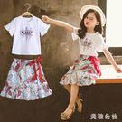 兩件式洋裝•女童夏裝連身裙寶寶小女孩公主裙子洋氣CC4111『美鞋公社』