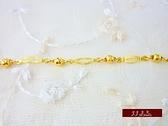 9999純金 金飾 幸福 黃金手鍊 手鍊