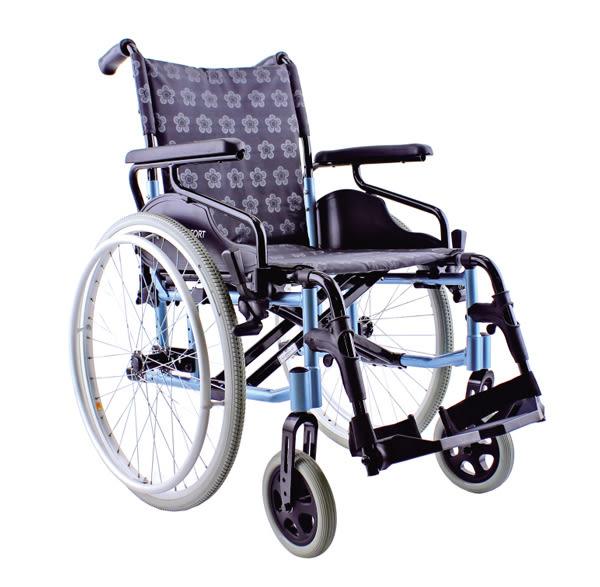 『COMFORT』康而富時尚輔具 CT-7000 18 後大輪 經典LOGO布/照顧輪椅/外出輪椅