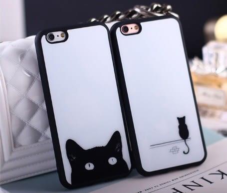 掛繩 防摔 手機殼 蘋果 iphone 6s plus 蘋果 軟 硅膠軟殼 情侶 貓 貓咪 時尚 可愛 軟殼 防摔