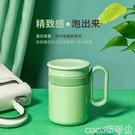 熱賣辦公室保溫杯 ECOTEK辦公室保溫杯男女不銹鋼咖啡馬克杯便攜定制泡茶杯子帶手柄 coco