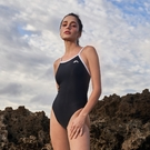 ≡MARIUM≡ MAR-20090W 大女競賽型泳裝(細肩)-白
