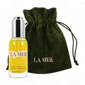 【17go】 LA MER 海洋拉娜 修護精華油(30ml)(無盒版)+絲絨收納束口袋(墨綠)