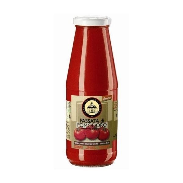 智慧體~義大利有機新鮮原味蕃茄濃汁700公克/罐
