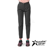 PolarStar 女 彈性合身長褲『炭灰』P21304 戶外 休閒 登山 露營 運動褲 釣魚褲