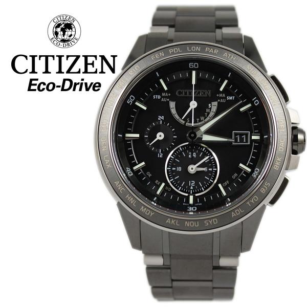 【萬年鐘錶】星辰 CITIZEN  電波  Eco-Drive光動能  鈦金屬電波計時 台灣限量款 AT9025-55E
