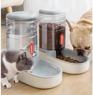 寵物餵食器 貓咪飲水機自動喂食器狗狗飲水器喝水神器流動不插電喂水寵物用品