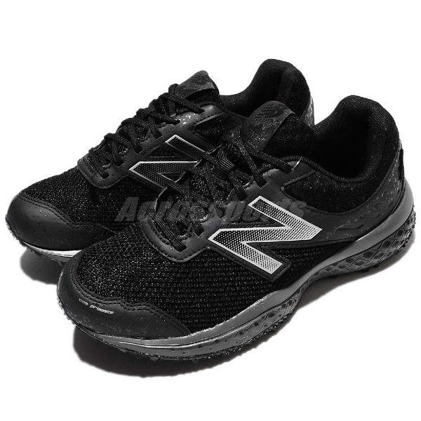 New Balance 越野慢跑鞋 NB 620 黑 銀 Gore-Tex 防水 運動鞋 舒適大底 透氣設計 女鞋【PUMP306】 WT620GTD