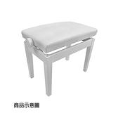 【非凡樂器】台製鋼琴升降椅/白色/ 微調式 可依照身高調整琴椅高度