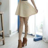 【  】 女襪 圖騰艋舺刺青褲襪絲襪日系星星【3202 20 】雙腳側面印花