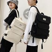 雙肩包 潮牌大容量雙肩包男女新款韓版高中大學生書包15.6寸電腦包【快速出貨八折搶購】