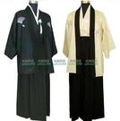 日式傳統男士正裝和服cosplay外套 和服睡袍浴衣 W百貨76