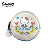 【正版授權】凱蒂貓 北歐風 零錢包 卡片包 小物收納 Hello Kitty 三麗鷗 Sanrio - 005176