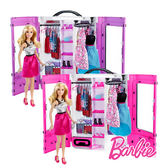 Barbie 芭比娃娃 閃亮造型衣櫃組 (多款式) 美泰兒正貨 麗翔親子館