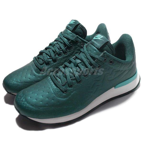 Nike 休閒慢跑鞋 Wmns Internationalist JCRD Winter 綠 白 女鞋 復古鞋 【PUMP306】 859544-901