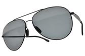 HUGO BOSS 偏光太陽眼鏡 0938S 2P6M9 (黑灰偏光鏡片) 男士時尚飛行款 # 金橘眼鏡