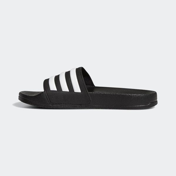 Adidas Adilette Shower K [G27625] 大童鞋 運動 涼鞋 拖鞋 休閒 輕量 愛迪達 黑白