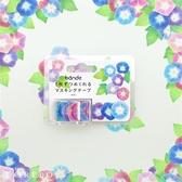 日本 bande 花草園-朝顏 和紙膠帶貼紙捲【bande】