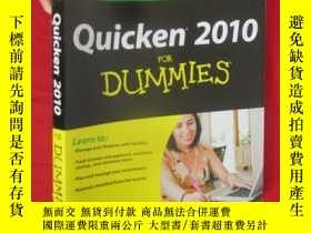 二手書博民逛書店Quicken罕見2010 for Dummies (16開)