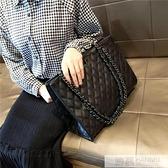 2020包包女潮洋氣手提包韓版百搭斜挎包大容量菱格錬條包  牛轉好運到