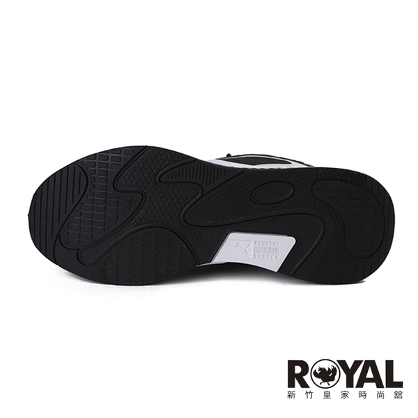 Puma Rs-Fast 黑色 皮質 休閒運動鞋 男女款 NO.B1807【新竹皇家 38056204】