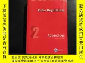 二手書博民逛書店Radio罕見Regulations 2 Appendices