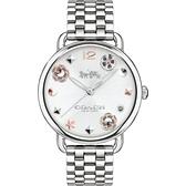 COACH 經典優雅時尚女腕錶/CO14502810