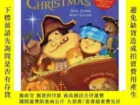 二手書博民逛書店A罕見Pirate Christmas: The Nativity Story-海盜聖誕節:耶穌誕生的故事Y4