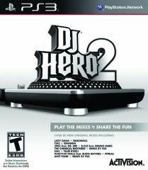 PS3 DJ 英雄 2 亞洲英文版