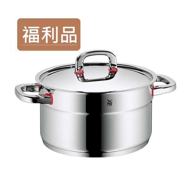 瘋搶5折 【福利品】德國WMF Premium One 高身湯鍋 24cm 5.6L