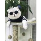 貓爬架 貓抓板劍麻小戶型貓架貓爬架貓跳臺抓柱貓窩貓抓板貓玩具貓跳竹席