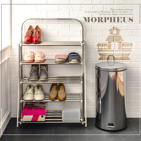 莫菲思 一體成型五層鞋架