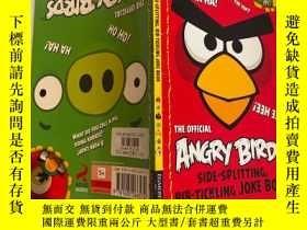 二手書博民逛書店anger罕見birds 憤怒的小鳥Y200392