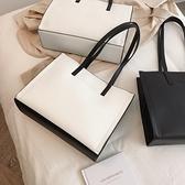 包包女包新款時尚托特包簡約百搭手提包大容量通勤公文側背包 青木鋪子