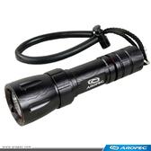 鋁合金LED潛水手電筒 T-DY-D01-220【AROPEC】
