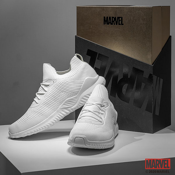女款 MARVEL漫威鞋款 PURE KNIT襪套慢跑休閒運動鞋 小尺碼休閒鞋 [M20810102]