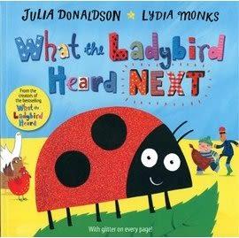 【WHAT THE LADYBIRD #第二集】WHAT LADYBIRD HEARD NEXT /英文繪本+CD