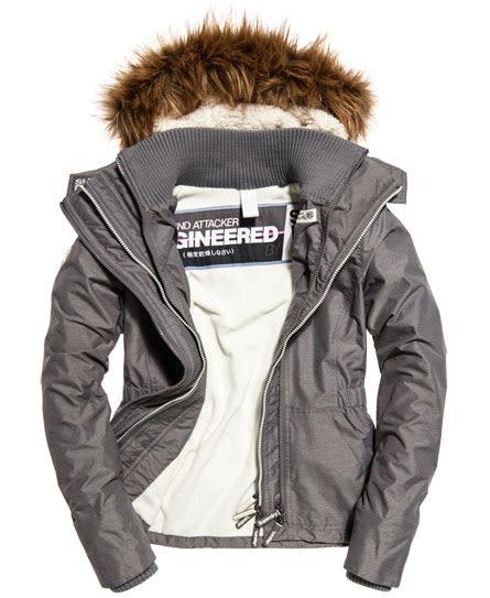 美國代購 現貨 Superdry 極度乾燥 Sherpa SD-Wind Attacker 絨毛連帽防風夾克(S)