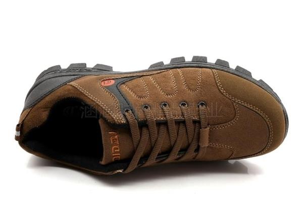 登山鞋軟底戶外鞋實心底防滑徒步鞋輕便旅游鞋防水釣魚秋冬季男鞋