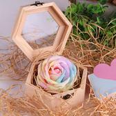 全館85折畢業情人節520活動禮品結婚生日回禮創意香肥皂花伴手禮盒手信 森活雜貨
