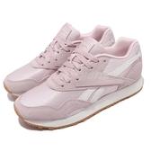 【六折特賣】Reebok 休閒鞋 Rapide 粉紅 米白 女鞋 膠底 麂皮 復古 運動鞋 【ACS】 CN7503