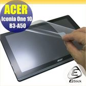 【Ezstick】ACER Iconia One 10 B3-A50 靜電式平板LCD液晶螢幕貼 (鏡面)