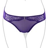 EASY SHOP-戀上PH5.5 低腰三角褲(深情紫)