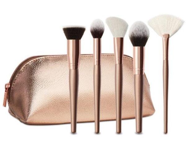 MORPHE COMPLEXION GOALS 臉部刷具 五支刷+一刷包 腮紅刷 蜜粉刷 超值刷具組